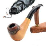 Morden Entwurfs-Tabak-Rohr-heiße verkaufenbirnen-hölzerne Pfeife