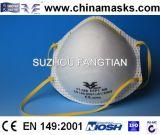 Non-Woven лицевой щиток гермошлема CE респиратора от пыли с высоким качеством