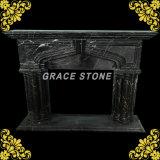Каменный мраморный камин, высеканные мраморный камины