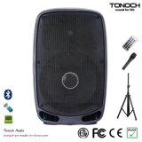 RoHS prüfte 15 Zoll Plastik-DJ-Lautsprecher-für Modell Ey15ub