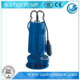 Wq-B Submersible Sewage Pump voor Dirty Water met 3HP~10HP