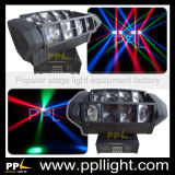 8PCS 10W RGBW 4in1 LED Mini Moving Head Spider Light