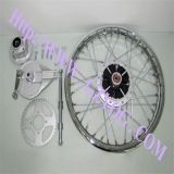 La motocicleta piezas de la motocicleta de la rueda trasera Ensamblaje de Cgl125 1,85-18
