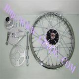 YogのオートバイはCgl125 1.85-18のためのオートバイの後部車輪のアッセンブリを分ける