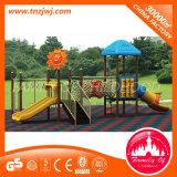 Il parco di divertimenti gioca il gioco esterno della strumentazione di ginnastica