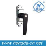 Yh9696 까만 아연 금속 내각을%s 전기 문 손잡이 자물쇠