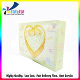 Коробка подарка бумаги постельных принадлежностей оптовой продажи слоения Matt сладостная