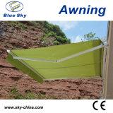 屋外の自動アルミニウム引き込み式の日除け(B3200)