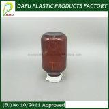 пластичная янтарная бутылка любимчика 275ml для капсул