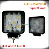 Jeep Offroadのための15W Square LED Work Light
