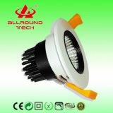 La alta calidad 6W LED abajo se enciende con el CE SAA (DLC075-005-B)