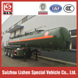 20000L 세 배 Axle Concentrated Sulfuric Acid Semi Trailer Tanker Truck