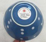 '' bol de potage de porcelaine de la glaçure 5.5 avec Pinting
