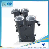 Dispositivo di raffreddamento di aria industriale dell'acqua della carica di ASME usato per il dispositivo di raffreddamento del compressore