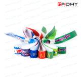 工場Price Custom WovenかFabric RFID Wristbands