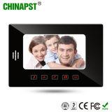 Teléfono impermeable de la puerta del vídeo de color de la pantalla del LCD con el clave del tacto (PST-VD7WT1)