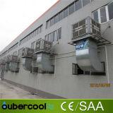 Azotea industrial/refrigerador de aire evaporativo montado en la pared/refrigerador del desierto con la circulación de aire 18000CMH