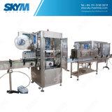 Máquina rotatoria automática llena del embotellamiento de agua de botella del animal doméstico