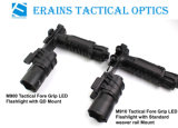 Erains TAC 광학 독서용 램프를 가진 전술상 250 루멘 Dura 알루미늄 그립 토치 플래쉬 등