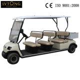 電池8の乗客のゴルフ車