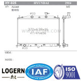 Radiador de alumínio da placa Hy-025 para o acento Mt Dpi de Hyundai: 2904