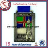 Più nuovo Customized Souvenir 3D Metals Medal con Customized Ribbon