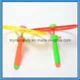 Het het Spelen van de Kwaliteit Plastic Stuk speelgoed van de Schijf van de Reeks van het Spel Duwende Opvlammende