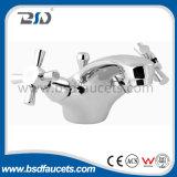 Faucet крана смесителя раковины тазика рукоятки двойника крома ванной комнаты Mono