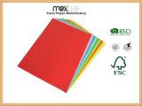 Tarjeta de papel del color (225GSM - 5 colores brillantes mezclados)