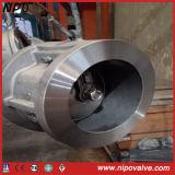Tipo única válvula da bolacha do aço de molde de verificação da placa