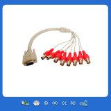 Высокое качество DVI к BNC Monitor Cable с Male к Male