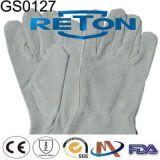 Кожаный перчатки/перчатки безопасности/трудные перчатки/перчатки