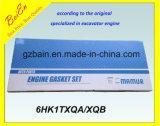 Het Reviseren van de Reparatie Mahle Uitrusting de van uitstekende kwaliteit /Set van de Pakking voor het Merk Isuzu 1-87812316-0 van de Motor 6HK1txqa/Xqb van het Graafwerktuig