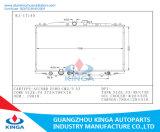 Auto Motor de refrigeración de la placa de aluminio Sistema Honda de aleta del radiador del Acuerdo Euro cm2 / 3 con calentador de tanque de agua en 19010-