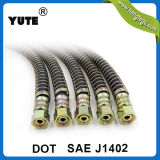 DOT Approved Fmvss 106 SAE J1402 Air Brake Hose in Rubber Hose