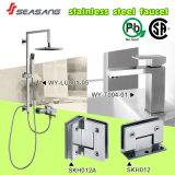 Stainless luxuoso Steel Rainfall Shower Set com Watermark Certificate