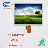 8 monitor de la resolución 1024 (RGB) X768 TFT LCD de la pulgada TV