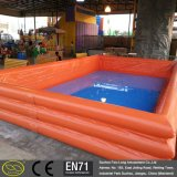 0.6~0.9mm PVC水運動場の膨脹可能で大きいプール