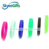 Wristband del silicone di festa di affari di sport con materiale ecologico