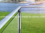 판매를 위한 Frameless 유리제 담/발코니 유리제 난간