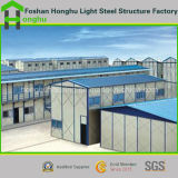 Tipo casa modular do telhado K da inclinação da alta qualidade da casa com alta qualidade