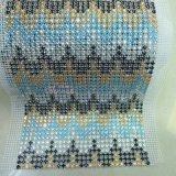 24の列の網の水晶のトリム