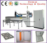 Máquina (PU) de dispensación del sello de la espuma de la junta del poliuretano para las piezas de la ventilación