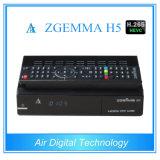 T2 DVC C Zgemma H5 do decodificador DVB S2 DVB de Hevc do equipamento da transmissão