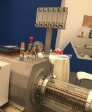 Cadena de producción plástica de la protuberancia del tubo del Pert de la agua caliente PPR de la maquinaria