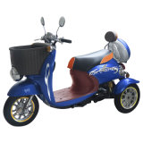 triciclo elettrico di 500W 48V con il cestino anteriore ed il circuito di collegamento posteriore (TC-014)
