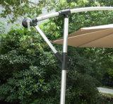 зонтик пляжа наклона рукоятки патио 10FT напольный алюминиевый