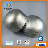 Garnitures de pipe soudées bout à bout de chapeau de l'acier inoxydable 304/304L avec TUV (KT0208)