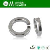 Rondelle à ressort DIN127 d'acier inoxydable d'Inox A2