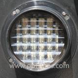 Nuova scheda chiara montata su veicolo della freccia direzionale di sicurezza stradale del LED